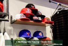 Cửa hàng mũ nón tại Thanh Hóa